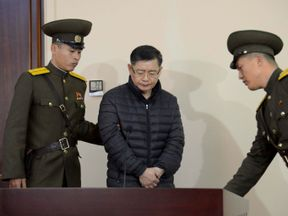 Hyeon Soo Lim was sentenced to hard labour for life in December 2015