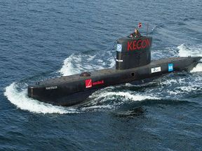 The Nautilus submarine pictured in 2008. Pic: WikimediaCommons/Frumperino