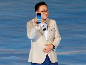 Koh Dong-jin, president of Samsung Electronics' Mobile Communications
