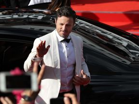 KARLOVY VARY, CZECH REPUBLIC - JUNE 30: US actor Casey Affleck arrives at the opening ceremony of the 52st Karlovy Vary International Film Festival (KVIFF) on June 30, 2017 in Karlovy Vary, Czech Republic. (Photo by Ronny Hartmann/Getty Images)