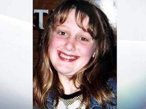Charlene Downes who went missing in 2003 Blackpool - pic: lancashire constabulary