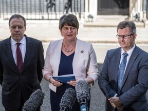 The DUP leader warned of 'the speedy introduction of direct rule' if agreement is not reached