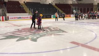 Mia Thorne learned how to skate despite having cerebral palsy and raised a large sum for charity