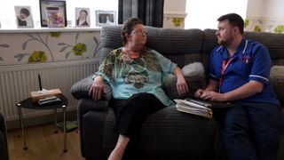 Car provided by a hospice allowed Jean Knight to die at home