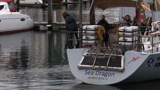 Deborah Stott is joining the all-women crew of the Sea Dragon as they assess plastic pollution in the oceans
