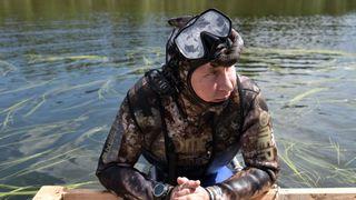 Putin fishes in the remote Tuva region
