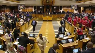 South Africa's President Zuma survives a vote of no confidence