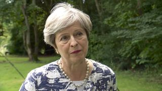 The Prime Minister says that the UK will develop a 'deep and special partnership' with the EU
