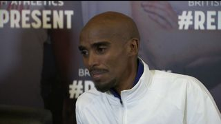 Mo Farah only won silver in the 5,000m