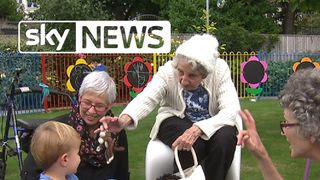 Nursery and home for elderly come together