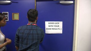 Students will be opening their A Level results but more pupils are looking for alternatives to university.