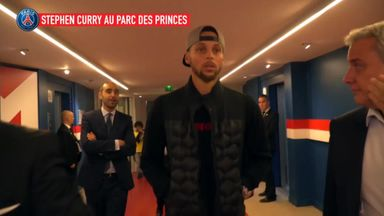 Curry meets Neymar at PSG