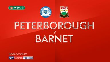 Peterborough 1-3 Barnet