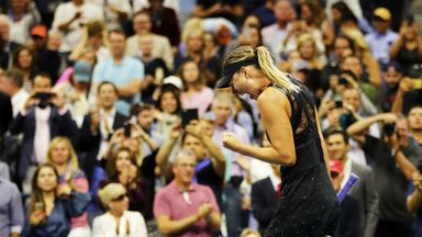 Fans happy with Sharapova return