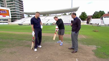 Buttler v Flintoff: Who hits it further?