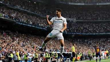 Asensio back amongst the goals