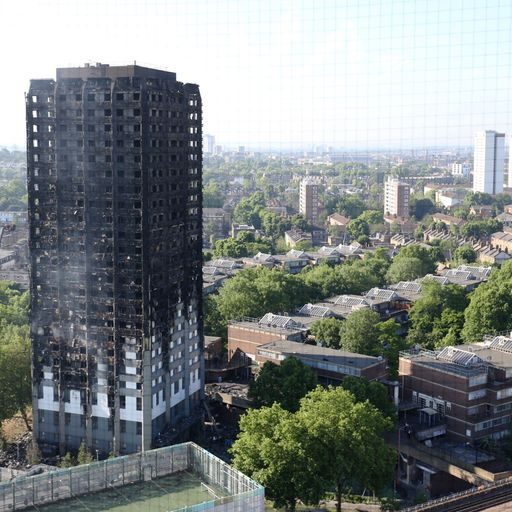 Grenfell Tower no longer a crime scene, police say