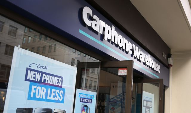 Carphone Warehouse fined £29m for Geek Squad mis-selling