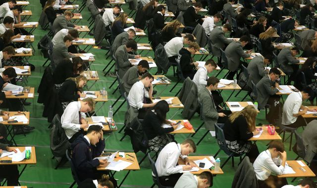 Investigation launched after images of A-Level maths exam appear online