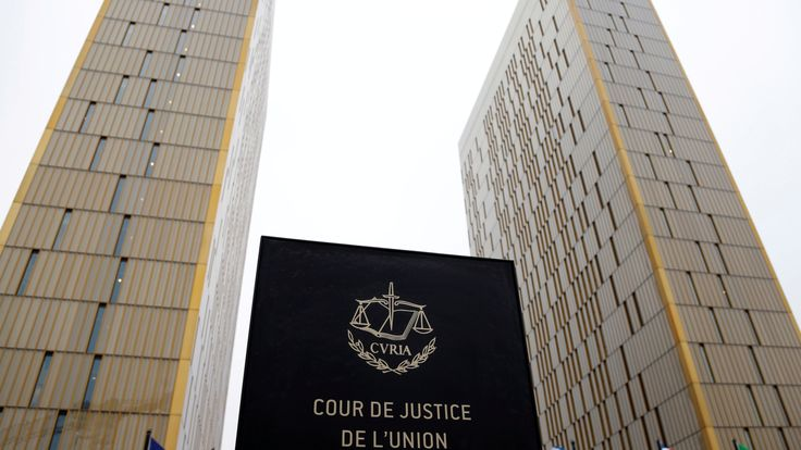 The towers of the European Court of Justice in Luxembourg