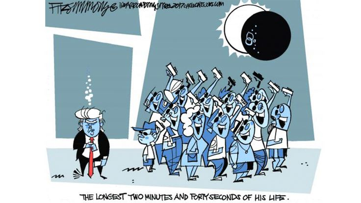 Cartoon: David Fitzsimmons, Arizona Star