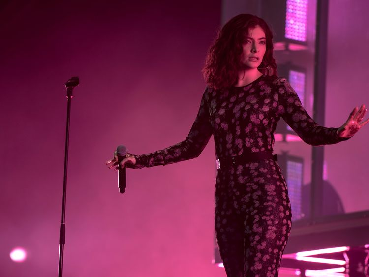 Lorde called the evening 'the most spectacular show planned'
