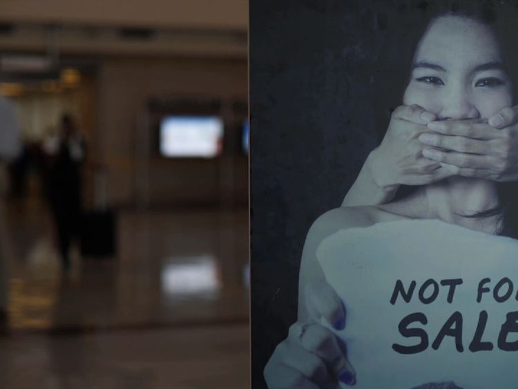 FBI agents are working in Atlanta airport to spot the signs of sex trafficking