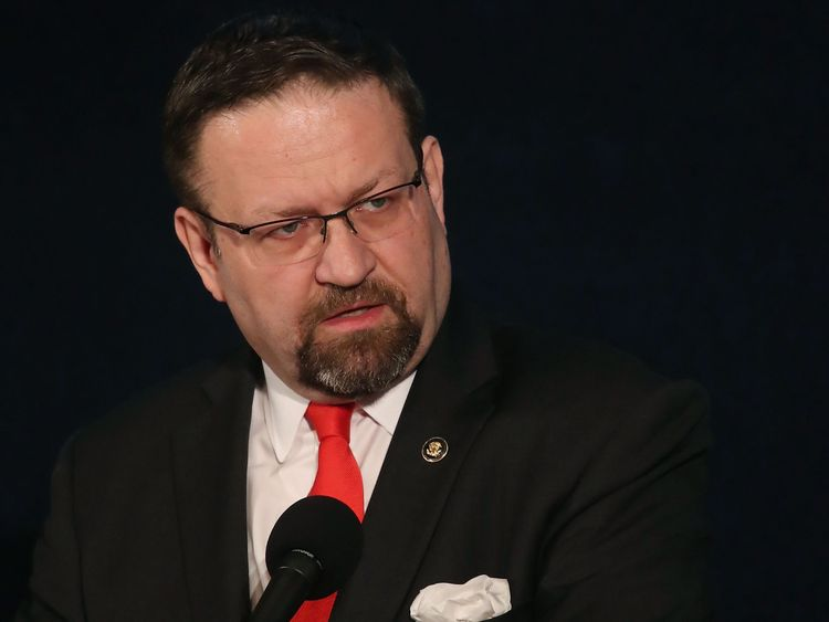 Sebastian Gorka, who has resigned from his counter-terrorism role in the White House