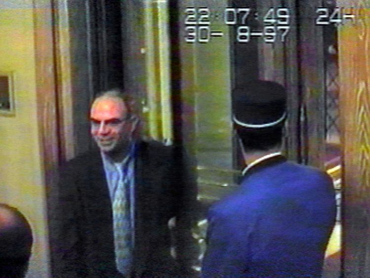 Henri Paul returning to the Ritz to meet Diana and Dodi