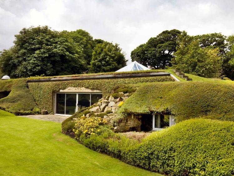 'Hobbit-style' underground home in West Yorkshire