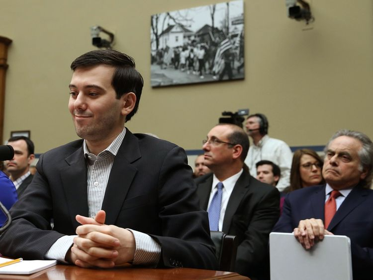 Martin Shkreli, former CEO of Turing Pharmaceuticals LLC