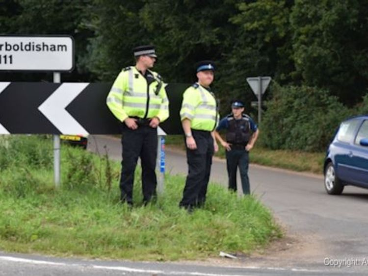 Extra police patrols have been put in place in the area. Pic. Archant 2017a