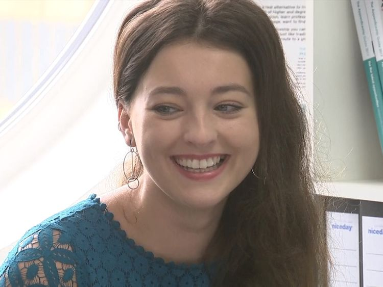 Apprentice Holly Hollingworth said she preferred to 'work without the debt'