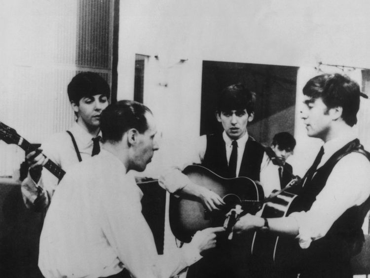 George Martin produced the hit Eleanor Rigby