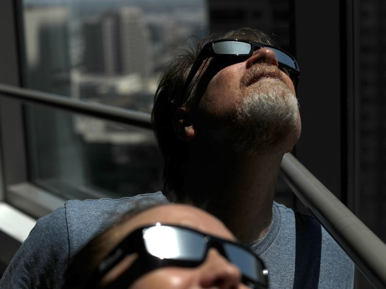 Shortages of solar eclipse sunglasses have been reported in some US cities