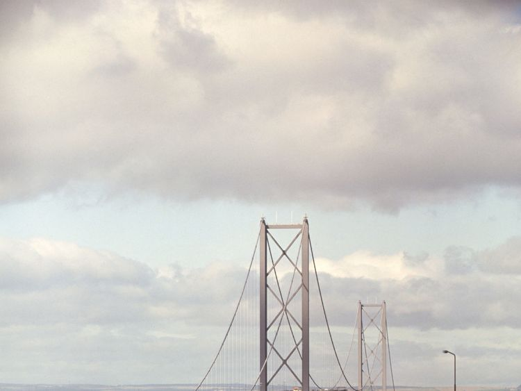 The new Queensferry Crossing joins two other iconic bridges across the Firth of Forth, with their construction spanning three centuries