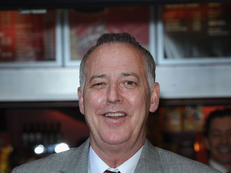 Michael Barrymore was arrested after the death of Stuart Lubbock