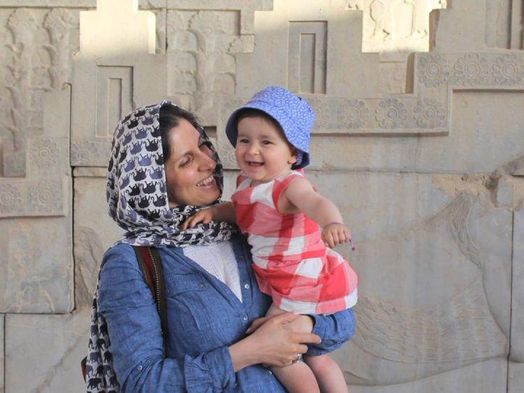 Nazanin Zaghari-Ratcliffe and daughter Gabriella