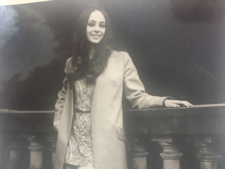 Anthea Connell in 1967