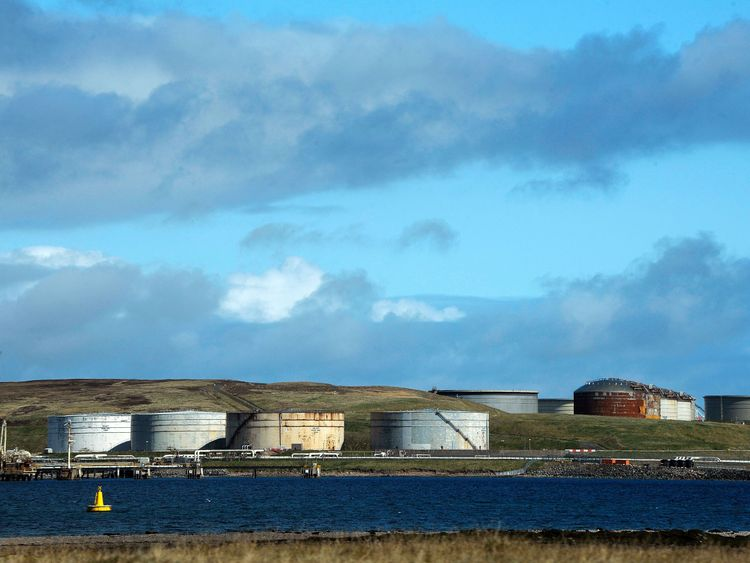 Shetland derives much of its income from the energy industry as well as tourism, farming and fishing