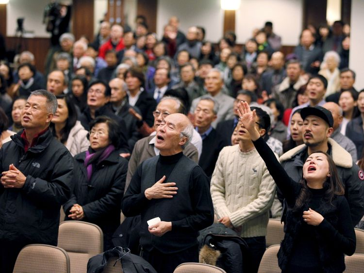 Lim's congregation in Toronto pray for him after his 2015 arrest