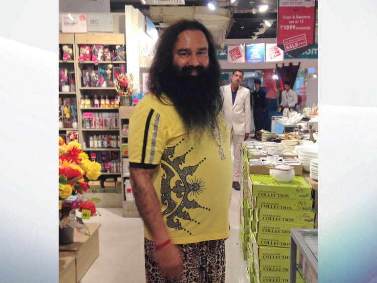 self-styled 'godman' Gurmeet Ram Rahim Singh