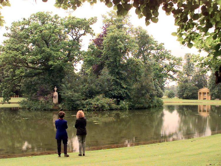 Diana is buried on an island in an ornamental lake in her family estate at Althorp