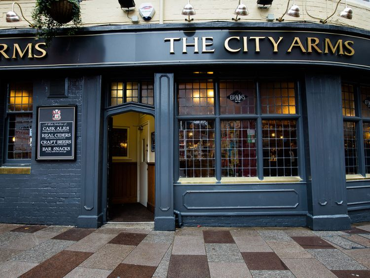 """The City Arms generally has a """"quieter crowd of drinkers"""""""