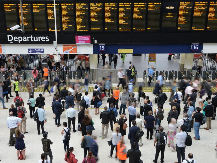 People faced more delays even though things were meant to be back to normal