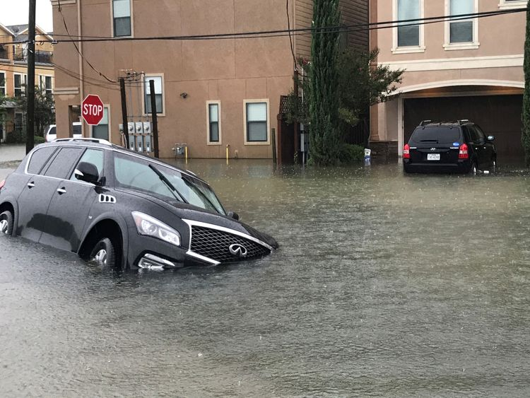 Flooding in Houston