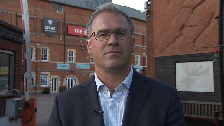 Surrey CCC chief executive Richard Gould