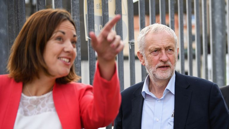 The Labour leader on his visit to win back support in Scotland
