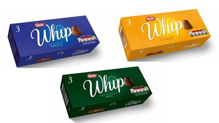 Walnut whips without the walnut