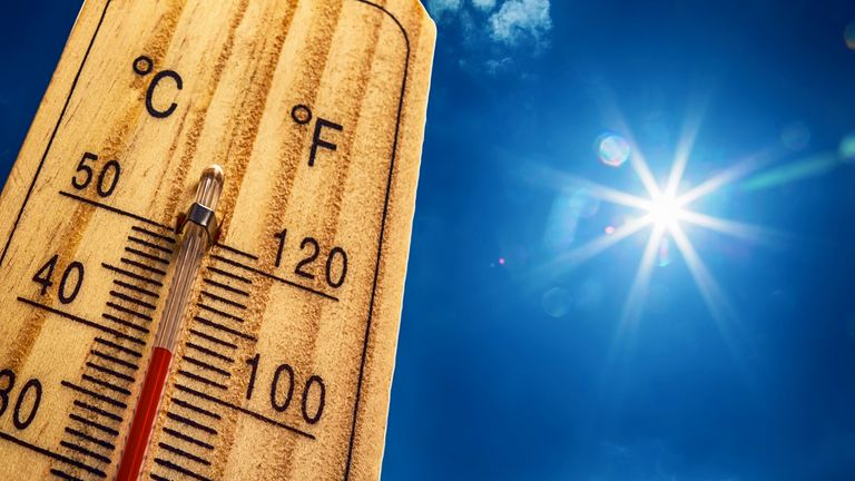 Countries across Europe have issued warnings to holidaymakers about the heat